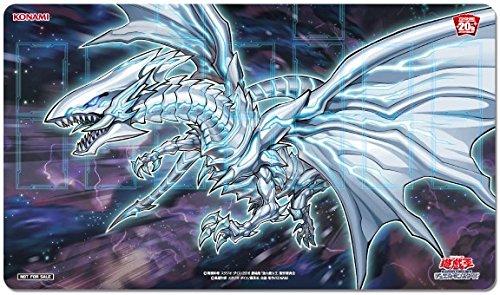 遊戯王20th ANNIVERSARYキャンペーン 第1弾 ラバー製デュエルフィールド 「青眼の亜白龍」  ブルーアイズ・オルタナティブ・ホワイト・ドラゴン プレイマット