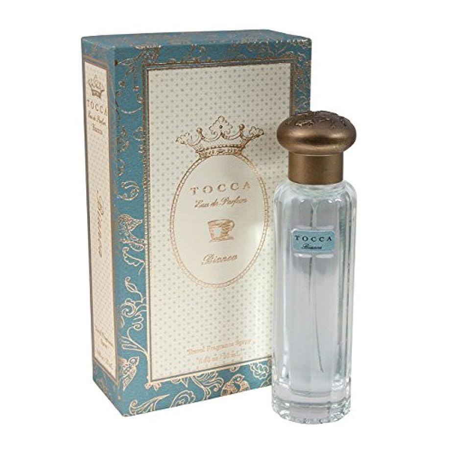 のれん篭水没トッカ(TOCCA)  トラベルフレグランススプレー ビアンカの香り 20ml(香水 オードパルファム 海を眺めながらのティータイムのようなグリーンティーとシトラス、ローズが溶け合う爽やかで甘い香り)