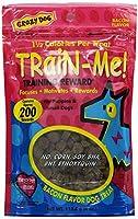 Crazy Dog Train-Me! Training Reward Dog Treats 4 oz. 89104