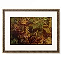 パウル・クレー Paul Klee 「Wald-Einsiedelei」 額装アート作品