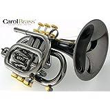 CarolBrass(キャロルブラス) N3000 BLK Bbポケットトランペット イエローブラス・ブラックニッケル