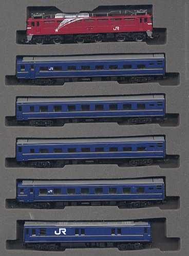 Nゲージ車両 EF81・24系25形特急寝台客車 (エルム) セット 92757