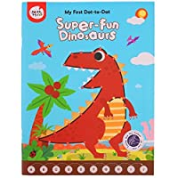 Joan Miro dot-to-dot Book for Kids Painting Book Super-fun Dinosaurs 1