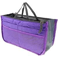 FITYLE Ladies Cosmetic Handbag Organiser Insert Liner Travel Bag Large Tote Purse