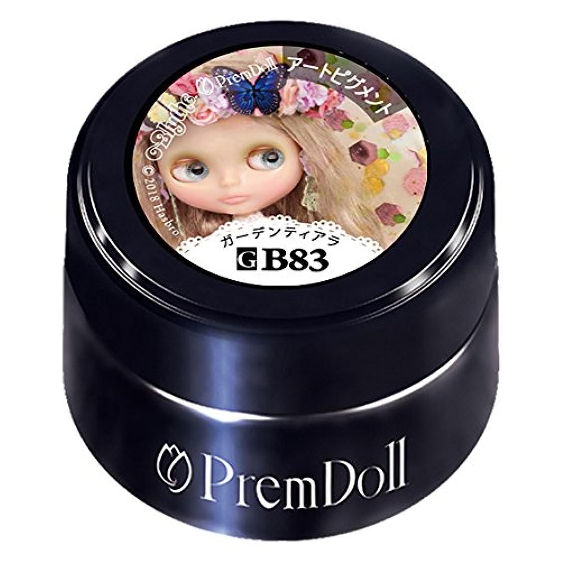 証明する売る蜜PRE GEL プリムドールガーデンティアラ83 DOLL-B83 3g UV/LED対応