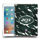 オフィシャル NFL カモフラージュ ニューヨーク・ジェッツ ロゴ ハードバックケース iPad 9.7 2017 / iPad 9.7 2018
