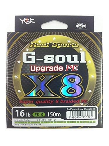 よつあみ(YGK) ライン G-soul X8 UPGRADE150m 16Lb(0.8)