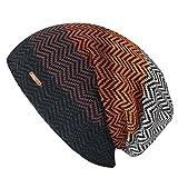 LETHMIK ニット帽子 ニットキャップ メンズ ワッチキャップ ビーニー カジュアル ゆったり スノボ スキー 自転車 バイク スケートボード 普段使いに アウトドア