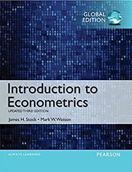 Introduction to Econometrics, Update, Global Edition by [Stock, James H, Watson, Mark W.]
