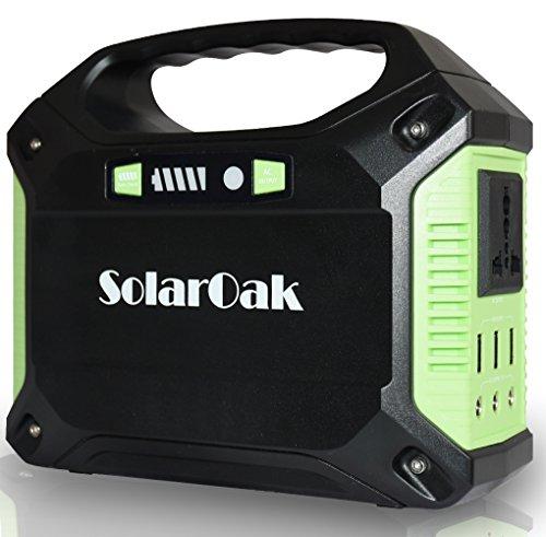 SolarOakポータブル電源 家庭用発電機 携帯式電源(4...