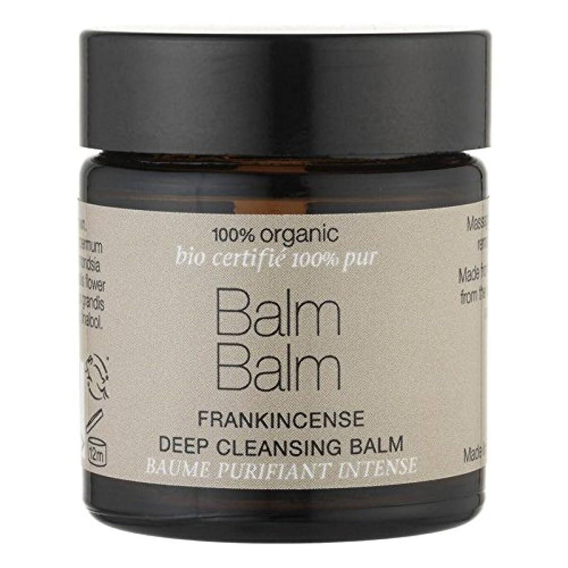 時代遅れ注釈を付ける代わりにを立てるBalm Balm Frankincense Organic Deep Cleansing Balm 30ml (Pack of 6) - バームバーム乳香有機ディープクレンジングクリーム30ミリリットル x6 [並行輸入品]