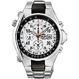 [オリエント時計] 腕時計 アラーム機能付き 1/5秒クロノグラフ ストップウォッチ搭載 国内メーカー保証付き STD0G002W0 メンズ