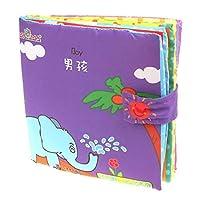 vibola教育おもちゃGood Night柔らかい布インテリジェンス開発学習画像Cognize Book for Baby