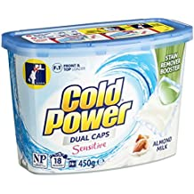 Cold Power Sensitive Laundry Detergent Capsules, 18 Pack, 450 grams