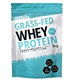 LOHAStyle ホエイプロテイン 1kg グラスフェッド (USDA認証取得原料) WPC 牛成長ホルモン不使用 牧草飼育乳牛 100% (合成甘味料・合成香料・無添加)