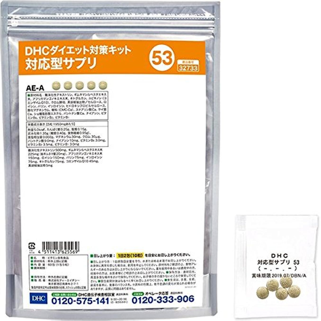 パールカビ作家DHCダイエット対策キット対応型サプリ53