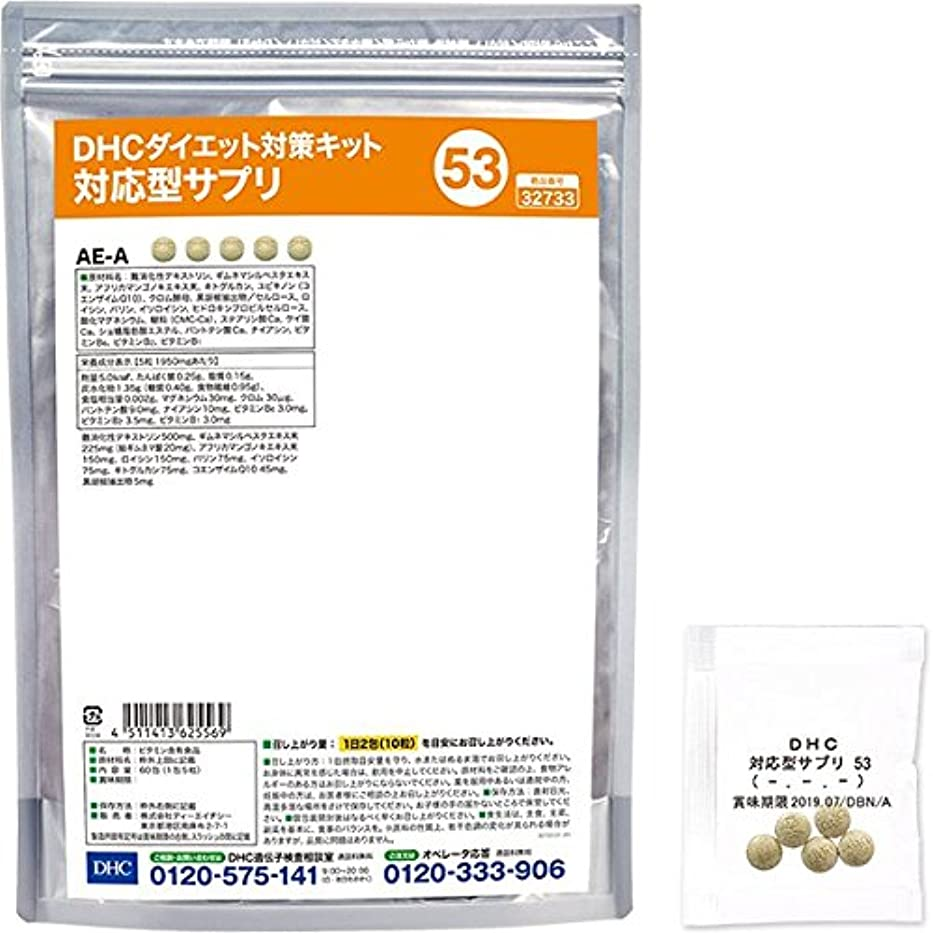 松明病不幸DHCダイエット対策キット対応型サプリ53