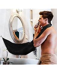 Klaxiaz - 高品質カミソリシェービング剃刀理容ツール髪のカミソリと刃アンティークブラック折りたたみシェービングナイフハンドル銅シングル