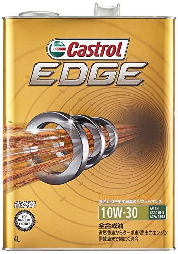 カストロール エンジンオイル EDGE 10W-30 4L 4輪ガソリン ディーゼル車両用全合成油 SN GF-5 Castrol