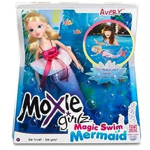 Moxie Girlz Magic Swim Mermaid Doll - Avery ドール 人形 フィギュア(並行輸入)
