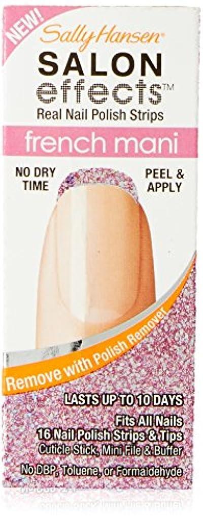 Sally Hansen Salon Effect Strips French Pink Macaroon (並行輸入品)