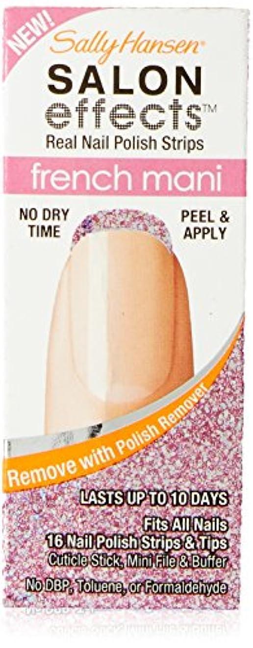 早い砲撃代表してSally Hansen Salon Effect Strips French Pink Macaroon (並行輸入品)