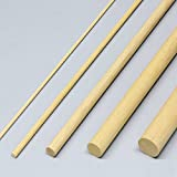 白木 丸棒材 長さ900mm 5本組 直径20mm