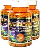 Saturn Supplements Saw Palmetto 500mg 【サターンサプリメント・アメリカから直接発送】サターンサプリメント ノコギリヤシ 120カプセル (4)