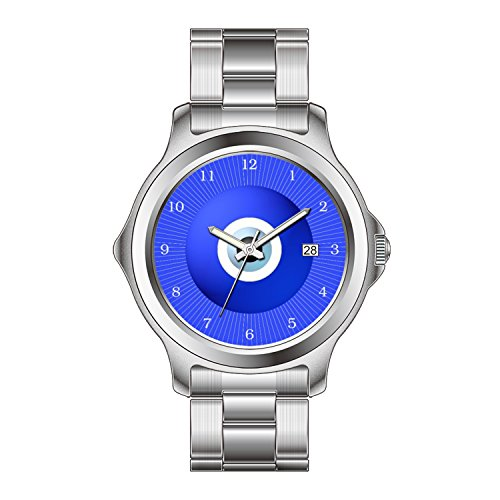 FDCクリスマスギフトWatches女性のファッションJapanese Quartz Dateステンレススチールブレスレット腕時計Amulet to Ward Off the Evil Eye