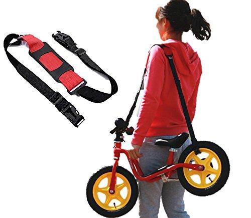 ストライダー もラクラク持ち運び 汎用 キャリー ベルト ペダルなし自転車 三輪車 スケボー Fun...