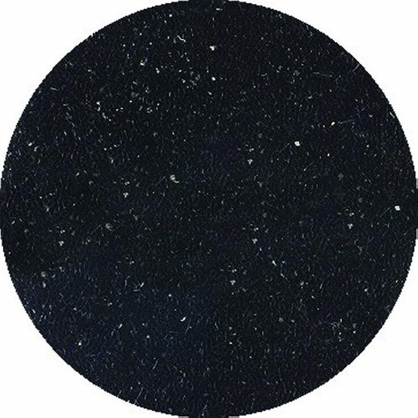 数学十一コンパニオンビューティーネイラー ネイル用パウダー 黒崎えり子 ジュエリーコレクション ブラック0.05mm