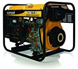 KIPOR ディーゼルエンジン発電機 KDE3.3E(50Hzモデル) 東日本地域専用