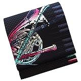 正絹 染京袋帯 お仕立て上り コンサート ジャズ 楽器
