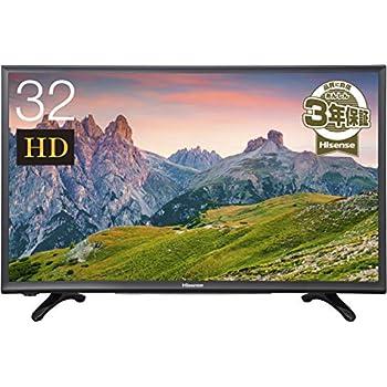 ハイセンス 32V型 液晶 テレビ HJ32K3120 ハイビジョン 外付けHDD裏番組録画対応 メーカー3年保証 2017年モデル