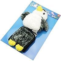 オーロラ ワールド ぬいぐるみポーチ トイレットペーパーホルダーカバー ペンギン