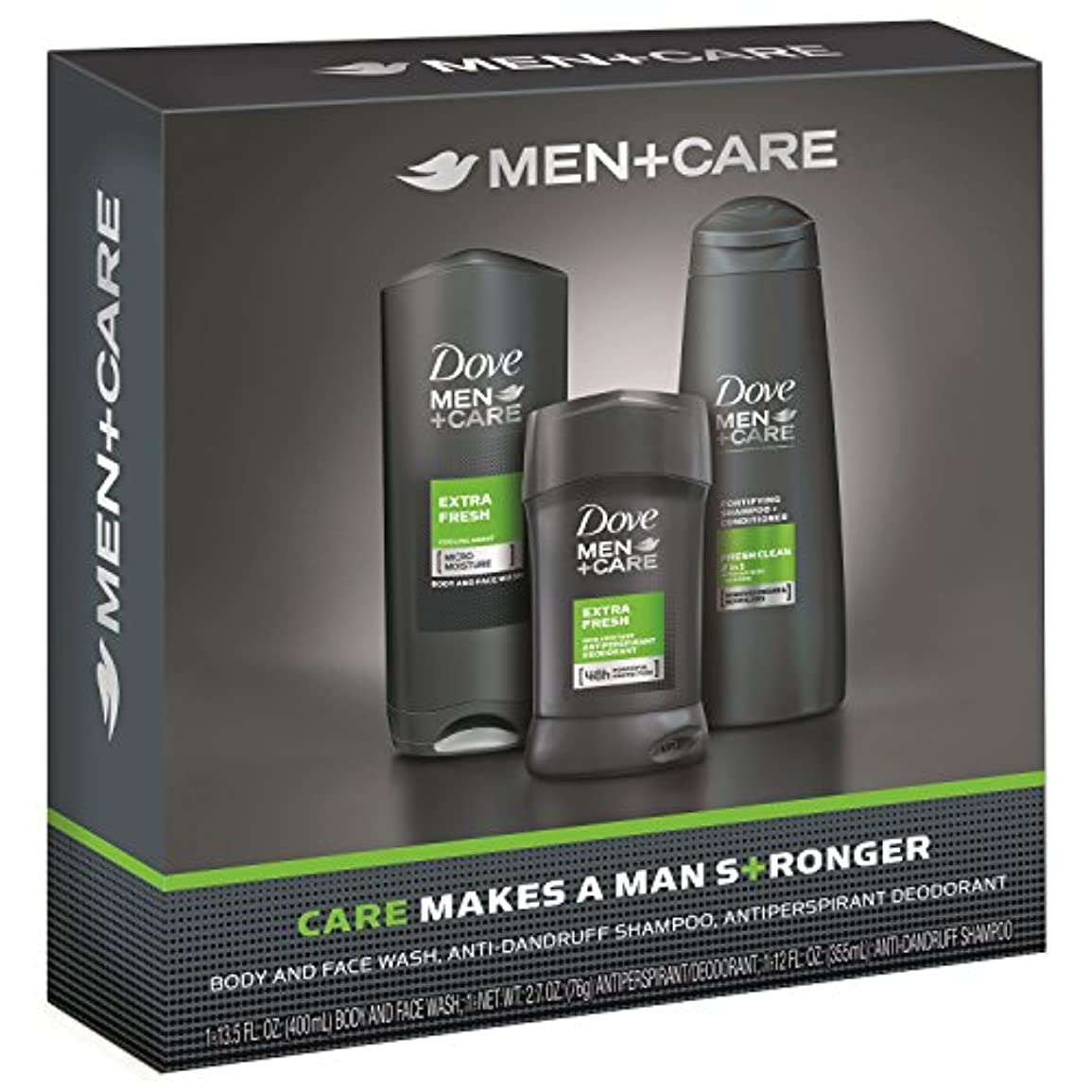 抜粋レタス座標Dove Men+Care Gift Pack Extra Fresh ダブ メンプラスケア ギフトパック エクストラフレッシュ