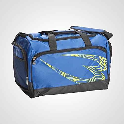 ボディメーカー(BODYMAKER) スポーツジムユースバッグ2 ブルー×イエロー BK062BLYE