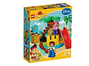 レゴ (LEGO) デュプロ ジェイクとネバーランドのかいぞくたちジェイクと宝島 10604