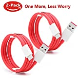 DeepDa OnePlus Dash Cable (2 Pack), Dash Type C USB Charging Cable for OnePlus 5/5T OnePlus 3/3T (3.3ft)