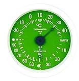 タニタ(Tanita) 温湿度計 グリーン TT-515 GR 壁掛け