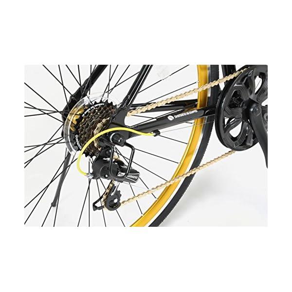 LIG(リグ) クロスバイク 700C シマ...の紹介画像12