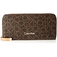 Calvin Klein Women's Monogram Zip Around Wallet