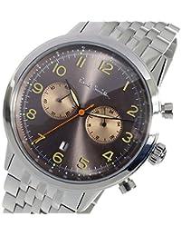 ポールスミス PAUL SMITH クロノ クオーツ メンズ 腕時計 P10019 ブラウン [逆輸入品]