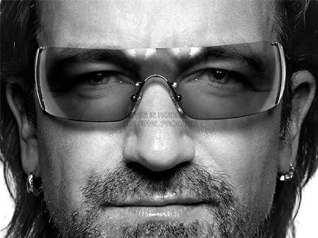 【音楽】ポール・ヒューソン ボノ U2 ポートレート アートプリントポスター  MUSIC IST PORTRAIT PAUL HEWSON BONO VOX U2 LV10235