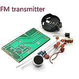 シンプルなFMワイヤレスマイクFMトランスミッターボード部品電子トレーニングラジオDIYキットFMマイクトランスミッター