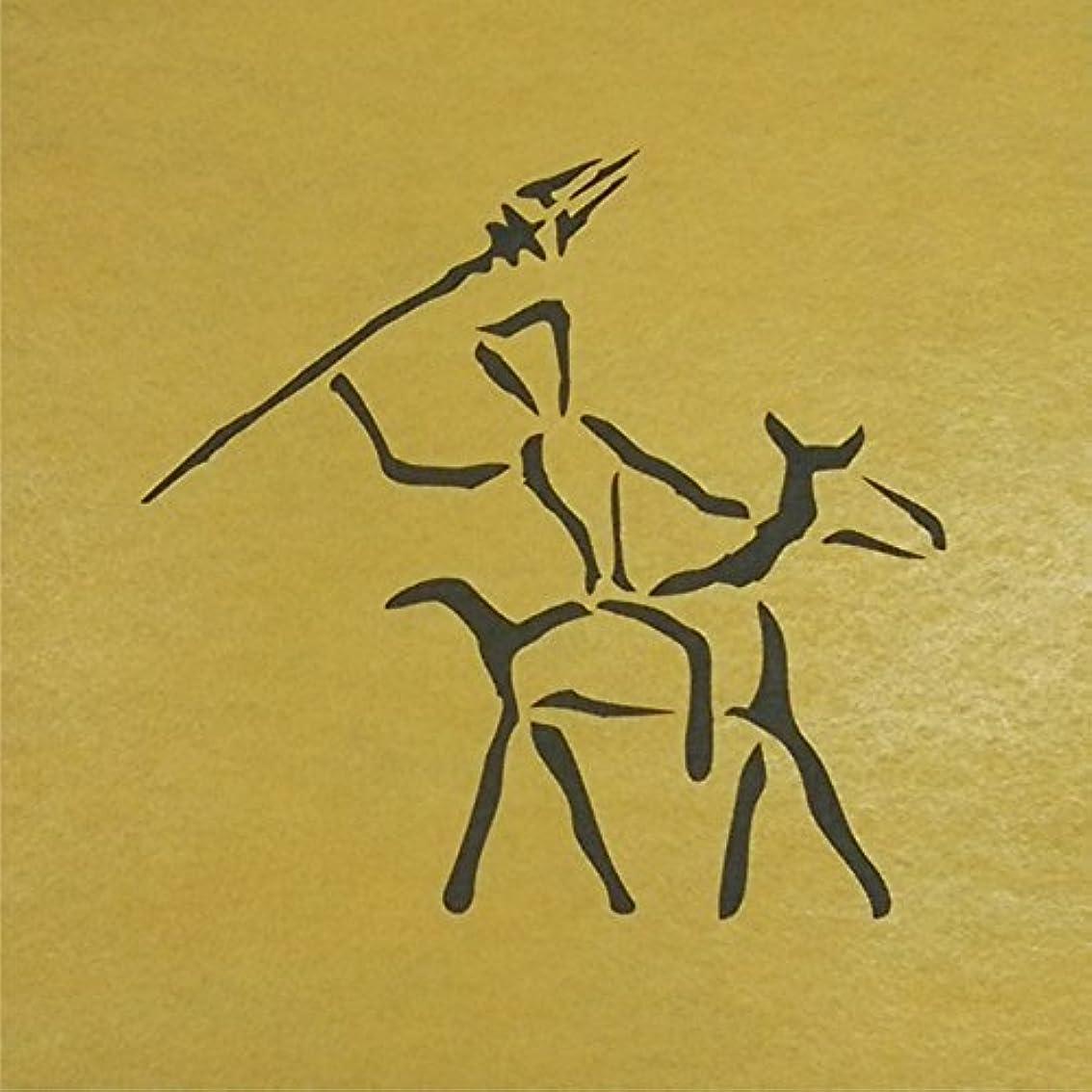 マサッチョネイティブ剃るステンシルシート 壁画 3サイズ型紙  (30cm)