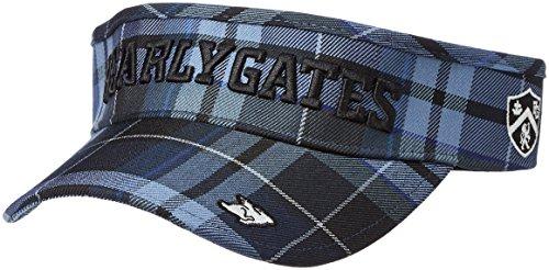 (パーリーゲイツ)PEARLY GATES [ 男女兼用 ] タータンチェック柄 バイザー ( サイズ調整可能 ) 053-7287012 053-7287012 110 ブルー FR