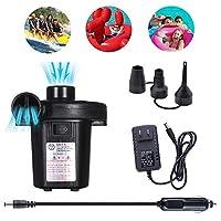 電動ポンプ 空気 プール 家庭用 エアーベッ 電動エアーポンプ 電動 ポンプ 充電式 空気入れ&空気抜き両対応 電動ポンプ