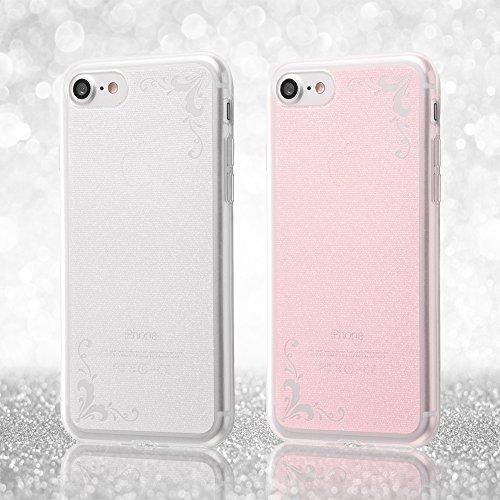 レイ・アウト iPhone 8 / iPhone 7 ケース ソフト TPU ジュエラ ピンク RT-P14C6/P