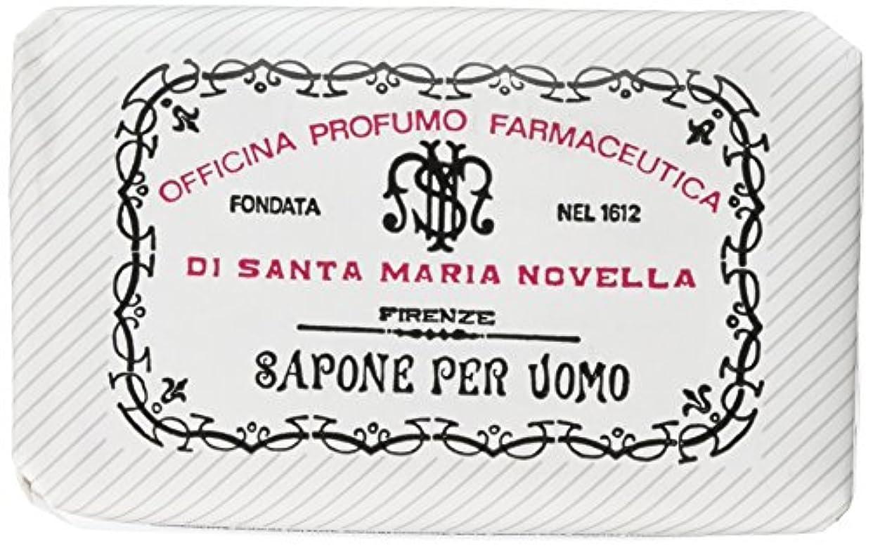 馬鹿げた周り介入するサンタマリアノヴェッラ メンズソープ ベティベール 130g [並行輸入品]